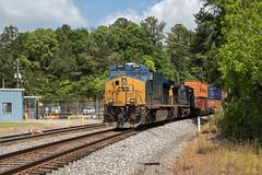 Etowah Pigs (travisnewman100) Tags: csx train railroad intermodal container international es44ah ac44cw yn3 yn2 c709 etowah subdivision atlanta division rr cartersville georgia