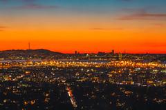 Live Like a Sunset (Thomas Hawk) Tags: america bayarea baybridge berkeley california eastbay sf sfbayarea sanfrancisco usa unitedstates unitedstatesofamerica westcoast bridge norcal sunset fav10 fav25 fav50 fav100