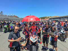 Club MV Agusta for WSBK at Laguna Seca 2018