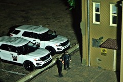 Police Blotter 4/26/2019 (THE RANGE PRODUCTIONS) Tags: greenlight fordpoliceinterceptorutility 164scale diecast dioramas diecastdioramas display model modular toy hoscalefigures