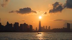 Sunset and boat (Johnson_Tsang) Tags: landscape magichour sunset leiyuemun hongkong hk silhouette mft olympus m43 ngc boat sea 三家村 鯉魚門 香港 船 海 日落