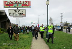 Cinco de Mayo March (PPWIII) Tags: grandrapids cinco de mayo protest march demonstration garfield park pinery division burton 28th michael cosecha hispanic grpd wpd wyoming police department msp michigan state kcsd kent county sheriff horse mounted bicycle undercover infiltrators rat