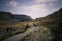 Moelwyns (TWilliams Photos) Tags: wales landscape sonyalpha tanygrisau landscapephotography photography walking waterscape hiking naturallight moelwyns reservoir