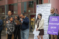 Make Illinois A Welcoming State for Immigrants Chicago 4-24-19_0375 (www.cemillerphotography.com) Tags: refugees borderwall sanctuarycities racism xenophobia fascism ice immigrationandciustomsenforcement mexico centralamerica migrants imperialism colonialism concentrationcamps privateprison corecivic geogroup profitingoffcaptives torture lockedup confinement
