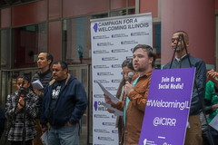Make Illinois A Welcoming State for Immigrants Chicago 4-24-19_0362 (www.cemillerphotography.com) Tags: refugees borderwall sanctuarycities racism xenophobia fascism ice immigrationandciustomsenforcement mexico centralamerica migrants imperialism colonialism concentrationcamps privateprison corecivic geogroup profitingoffcaptives torture lockedup confinement