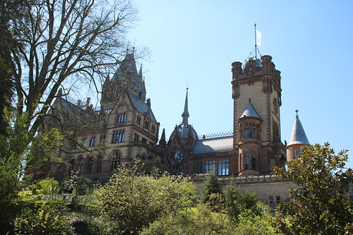 Königswinter: Schloss Drachenburg auf dem Drachenfels