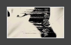 Zen (pastadimama) Tags: blackandwhite macro abstract art abstractart bw macroart illusion zen