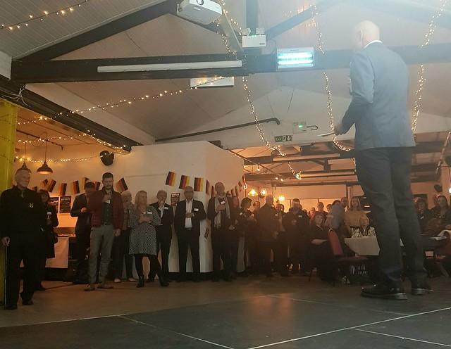 Nottingham Karlsruhe 50th Anniversary Launch event