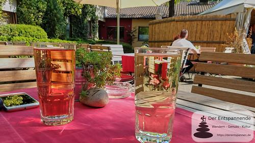 Weinschorle im Christianshof