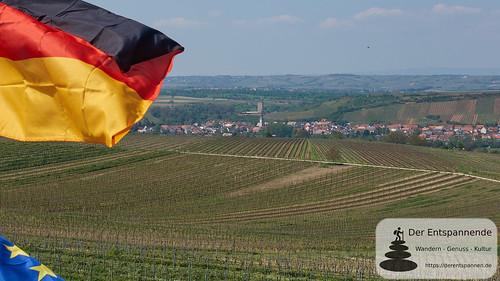 Blick vom Trutzturm auf Schwabsburg