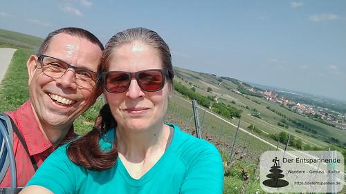 Selfie auf den Rheinterrassen