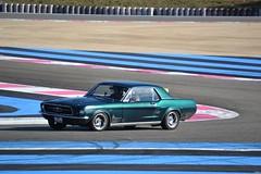 FORD Mustang Coupé - 1967 (SASSAchris) Tags: ford mustang coupé castellet circuit ricard httt htttcircuitpaulricard htttcircuitducastellet 10000 10000toursducastellet voiture américaine