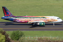 Brussels Airlines A320-214 OO-SNF (wapo84) Tags: bru ebbr a320 oosnf brusselsairlines amare tomorrowland