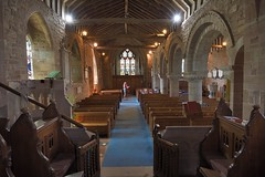 179-20180714_Weston under Penyard Church-Herefordshire-view from Chancel back down Nave to W end of Church (Nick Kaye) Tags: westonunderpenyard herefordshire england church