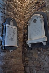 201-20180714_Weston under Penyard Church-Herefordshire-N Aisle, SW corner-memorial to William Nourse (1788), son John (1808) & daughter Mary (1848) (Nick Kaye) Tags: westonunderpenyard herefordshire england church