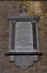 199-20180714_Weston under Penyard Church-Herefordshire-Nave (S side, W end)-memorial to Thomas Bisse (d.1731) aged 36 years (Nick Kaye) Tags: westonunderpenyard herefordshire england church