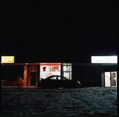 Bowness Pizza (Brjann.com) Tags: winner alt slide film e6 kodakfilm kodak analog kodakchrome color plus 200 epp200 hasselblad 501cm landscape newtopographic topologies topographic new nightscape urban urbanscape moody mystery vibe haunting eerie