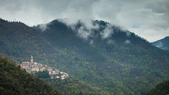 Castel Vittorio (John Twohig Photography) Tags: italy liguria hill mountain village trees forest twohig photography canon john foyle media