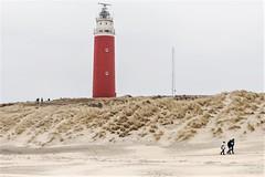 Vuurtoren / Lighthouse op de noordpunt van Texel. (parnas) Tags: texel noordpunt nederland vuurtoren lighthouse