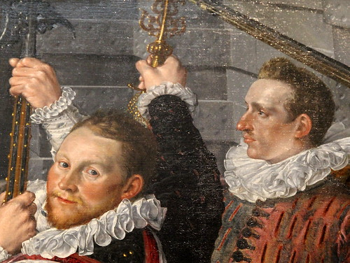 The Company of Captain Dirck Jacobsz Rosecrans and Lieutenant Pauw, Cornelis Ketel, 1588