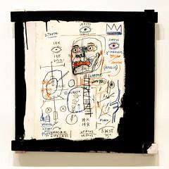 Paris, France v.76 (lumierefl) Tags: paris îledefrance france europe europeanunion eu art artist painting haitian puertorican andywarhol neoexpressionist 21stcentury anatomy crown eye