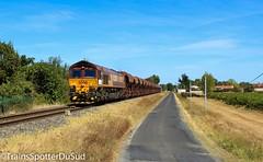 Class 66224 + Bagnac-St Jory / Couffouleux (Trains Spotter Du Sud) Tags: class66 class66224 ecr régiorail bagnacstjory voieunique