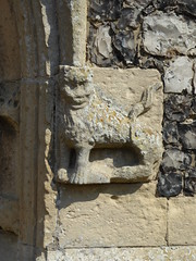 Lion, Walberswick (Aidan McRae Thomson) Tags: walberswick church suffolk medieval