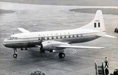 I-DOGI. Alitalia Convair 340 (Ayronautica) Tags: convair340 idogi alitalia propliner airliner lhr egll heathrow scanned aviation ayronautica