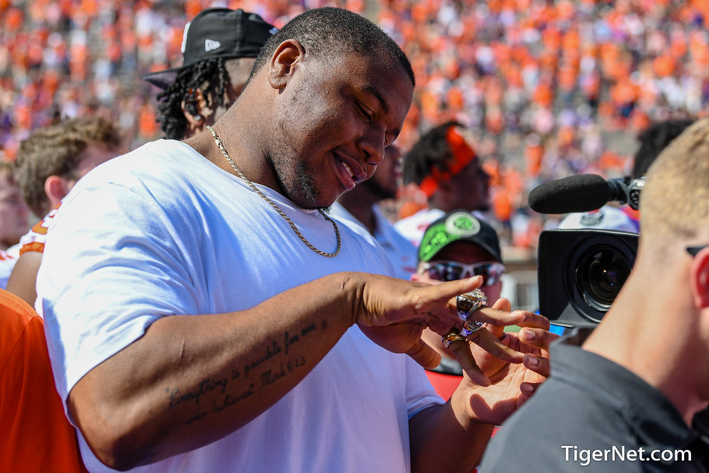 Clemson Photos: Dexter  Lawrence, 2019, Football