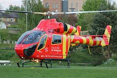 G-EHEM Essex & Herts Air Ambulance (kertappa) Tags: img8336 air ambulance herts hertfordshire essex hems doctor paramedics hospital gehem emergency helicopter harwoods adventurous playground watford