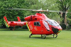 London's Air Ambulance in Chelsea (kertappa) Tags: img8074 air ambulance londons london hems doctor paramedics hospital gehms emergency helicopter kertappa chelsea