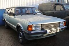 HCR 815X (Nivek.Old.Gold) Tags: 1982 ford cortina 16 l auto estate mk5 aca