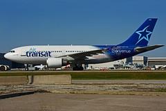 C-GTSH (Air Transat) (Steelhead 2010) Tags: yyz creg cgtsh airbus a310 a310300 airtransat