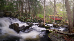 Southford-Falls-State-Park-Southbury-CT-USA_05022019-303-Pano (LBSimmsPhotography) Tags: rock southfordfallsstatepark southfordfalls stream view background cascade connecticut culture forest lake landscape natural nature ngc northamerica outdoor river scenic serene spring travel trees water woodland