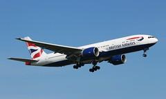 G-VIIB Boeing 777-236ER British Airways (R.K.C. Photography) Tags: gviib boeing 777236er b777 british britishairways ba baw speedbird aircraft aviation airliner london england unitedkingdom uk 09l londonheathrowairport lhr egll canoneos100d