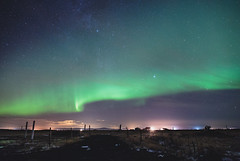Northern Lights (lingtotheyang) Tags: landscape iceland nightphotography nightsky longexposure sky aurora stars