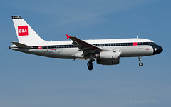 BA_BEA_Retrojet_GEUPJ_A319_BRU_APR2019 (Yannick VP) Tags: civil commercial passenger pax transport airplane aeroplane aircraft jet jetliner airliner ba baw bea britisheuropeanairlines british airways retro special colors colours livery paint scheme airbus a319 319100 geupj approach landing runway rwy 07l aviation photography planespotting airplanespotting brussels airport bru ebbr belgium be europe eu april 2019