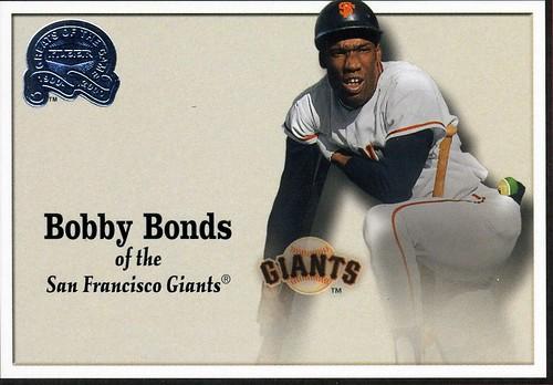 Bobby Bonds Baseball Card A Photo On Flickriver