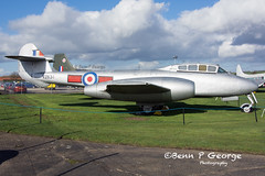 METEOR-T7-VZ634-9-3-19-NEWARK-AIR-MUSEUM (Benn P George Photography) Tags: winthorpe newarkairmuseum 9319 bennpgeorgephotography proserved canberra pr7 wh792wh791 meteor t7 vz634 f4m fgr2 xv490 buccanner s2b xx899 royalairforce nikon nikond7100 nikon18105vr