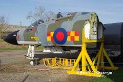 F4M-FGR2-XV490-9-3-19-NEWARK-AIR-MUSEUM-(1) (Benn P George Photography) Tags: winthorpe newarkairmuseum 9319 bennpgeorgephotography proserved canberra pr7 wh792wh791 meteor t7 vz634 f4m fgr2 xv490 buccanner s2b xx899 royalairforce nikon nikond7100 nikon18105vr