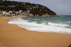 Llafranc (O'Bydalej) Tags: llafranc spain catalonia coast costabrava beach sand sea mediterranean
