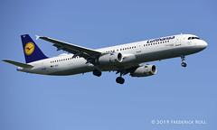 Lufthansa A321 ~ D-AISC (© Freddie) Tags: londonheathrow poyle heathrow lhr egll 09l arrivals lufthansa staralliance airbus a321 daisc fjroll ©freddie