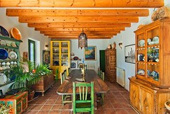 Comedor (brujulea) Tags: brujulea casas rurales turre almeria casa rural nacimiento del rincon comedor