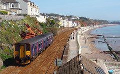 150238 Dawlish (4) (Marky7890) Tags: gwr 150238 class150 sprinter 2f25 dawlish railway devon rivieraline train