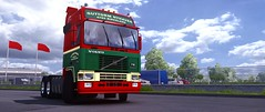 Nyhaven Transport (wirdokhatzu sevenstrings) Tags: custom cyberrior volvo artwork company trucks transport trailers paintjobs
