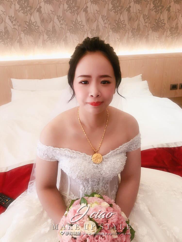【新秘婕喬】bride馨如 結婚造型 / 台中賀緹酒店