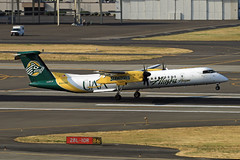 University of Alaska Anchorage (planephotoman) Tags: bombardier dhc8400 dhc8402 q400 n443qx uaa universityofalaskaanchorage seawolves horizonair alaskaairlines airline airliner pdxaircraft portlandinternationalairport pdx kpdx