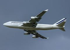 F-GITH Boeing 747 Air France (@Eurospot) Tags: fgith boeing 747 747400 airfrance toulouse blagnac