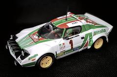 Lancia Stratos -Alitalia- (molineli) Tags: slot ninco car lancia stratos alitalia macro