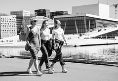 Spring (AstridWestvang) Tags: architecture bay opera oslo people